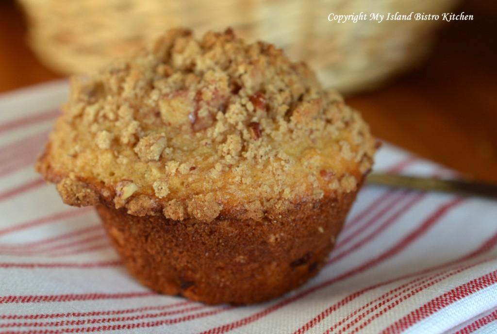 Rhubarb and Orange Muffin