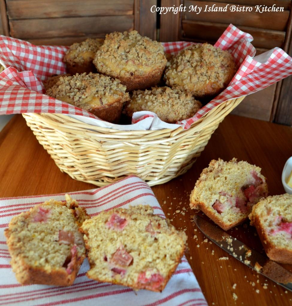 Rhubarb and Orange Muffins