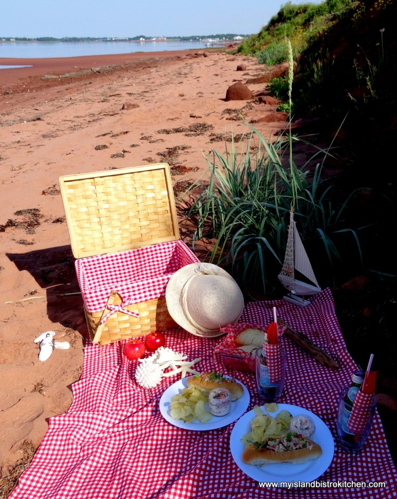 Canada Day Picnic on the Beach
