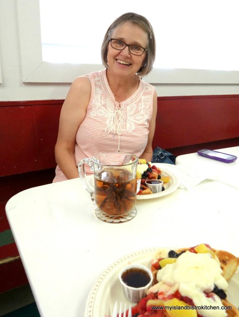 Katherine Burnett, Owner, Lady Baker's Tea Trolley