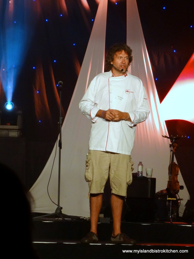 Chef Michael Smith, host of the Feast and Frolic Dinner at the PEI International Shellfish Festival, Charlottetown, PEI