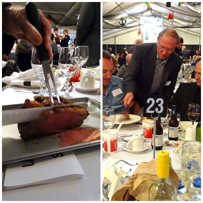 Carving and Serving the Slow Roast Striploin