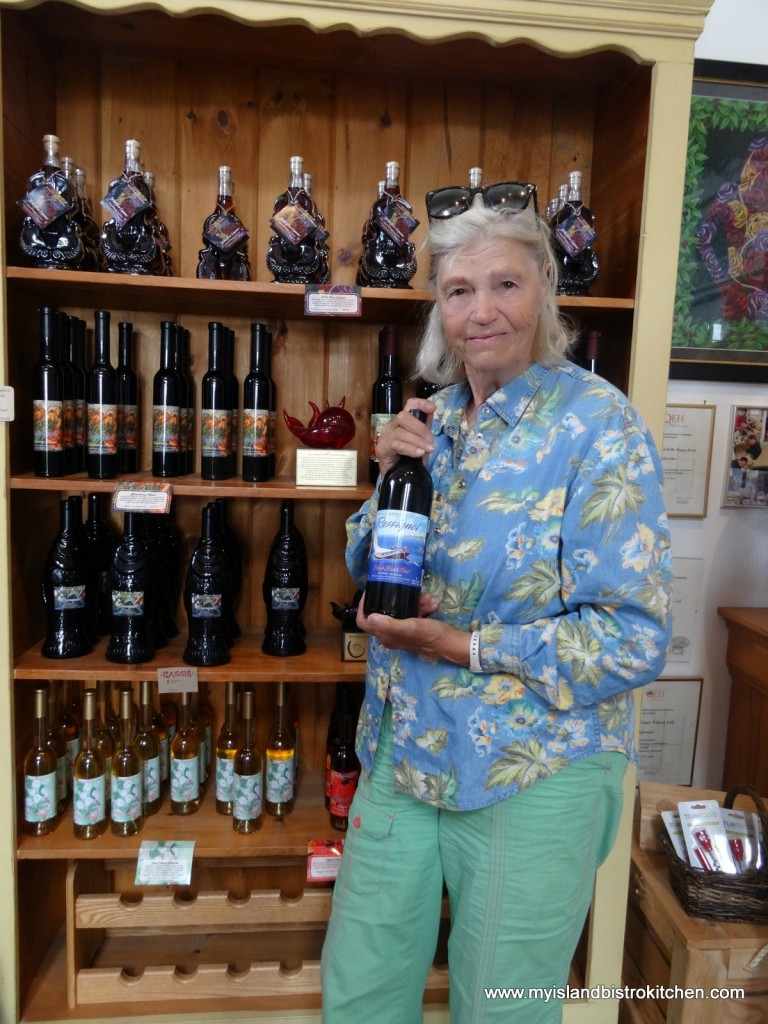 Nancy Perkins, Designer of Wine Bottle Labels at Rossignol Winery