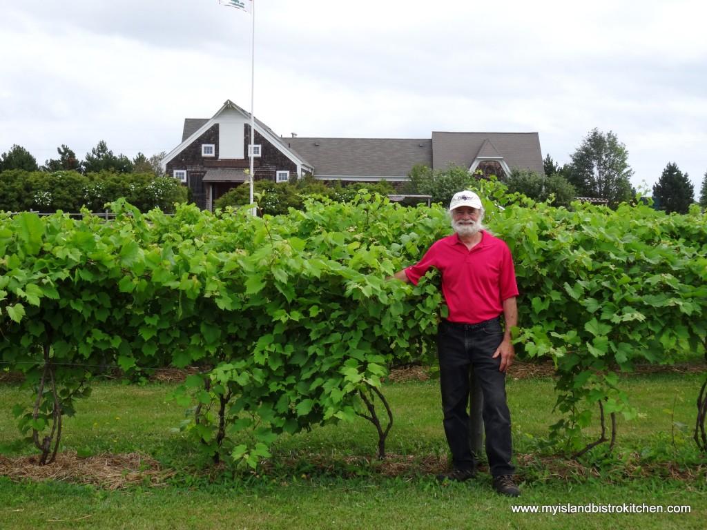 John Rossignol, owner, Rossignol Winery, Little Sands, PEI