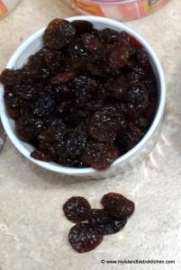 Lexia Raisins (big sticky raisins)
