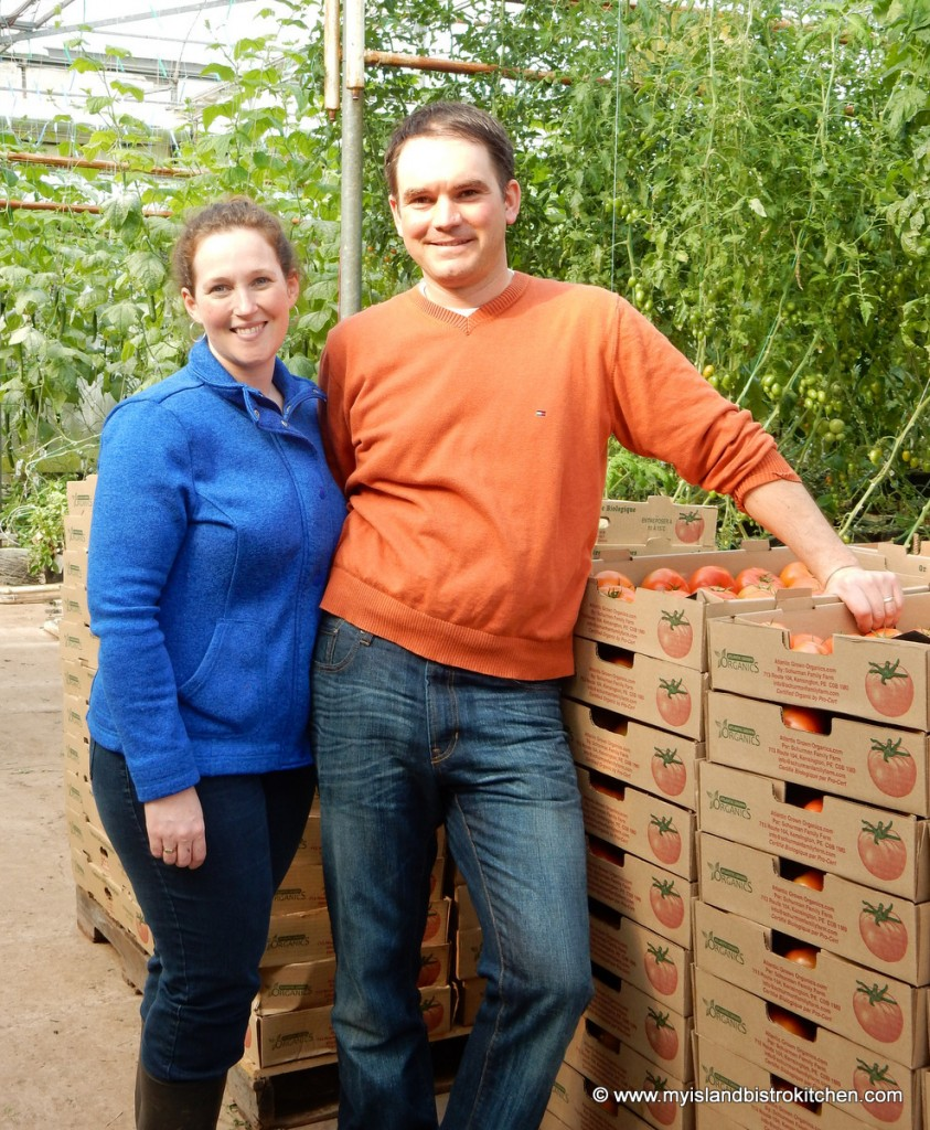 Krista and Marc Schurman of Schurman Family Farm, Spring Valley, PEI