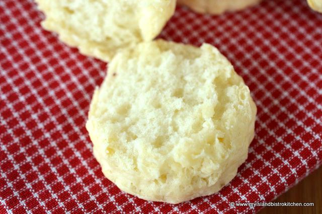 Texture of biscuit