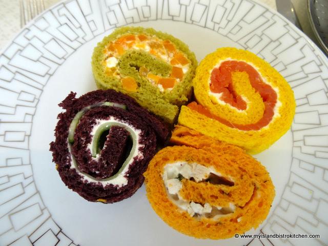 Pinwheel/Scroll Sandwiches