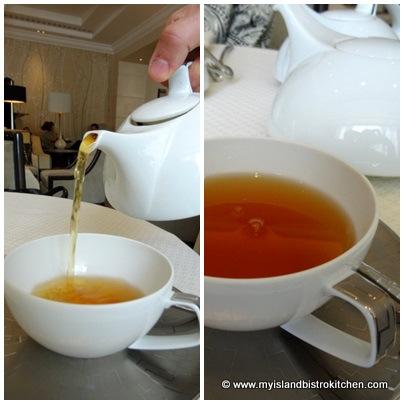 Second Flush Darjeeling Tea to Accompany Sandwich Course
