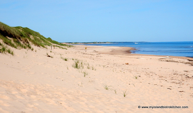 Beach at Greenwich National Park, PEI