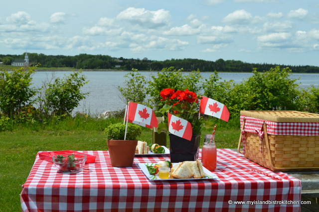 Picnic at St. Peter's Bay, PEI