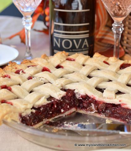 Mock Cherry Pie