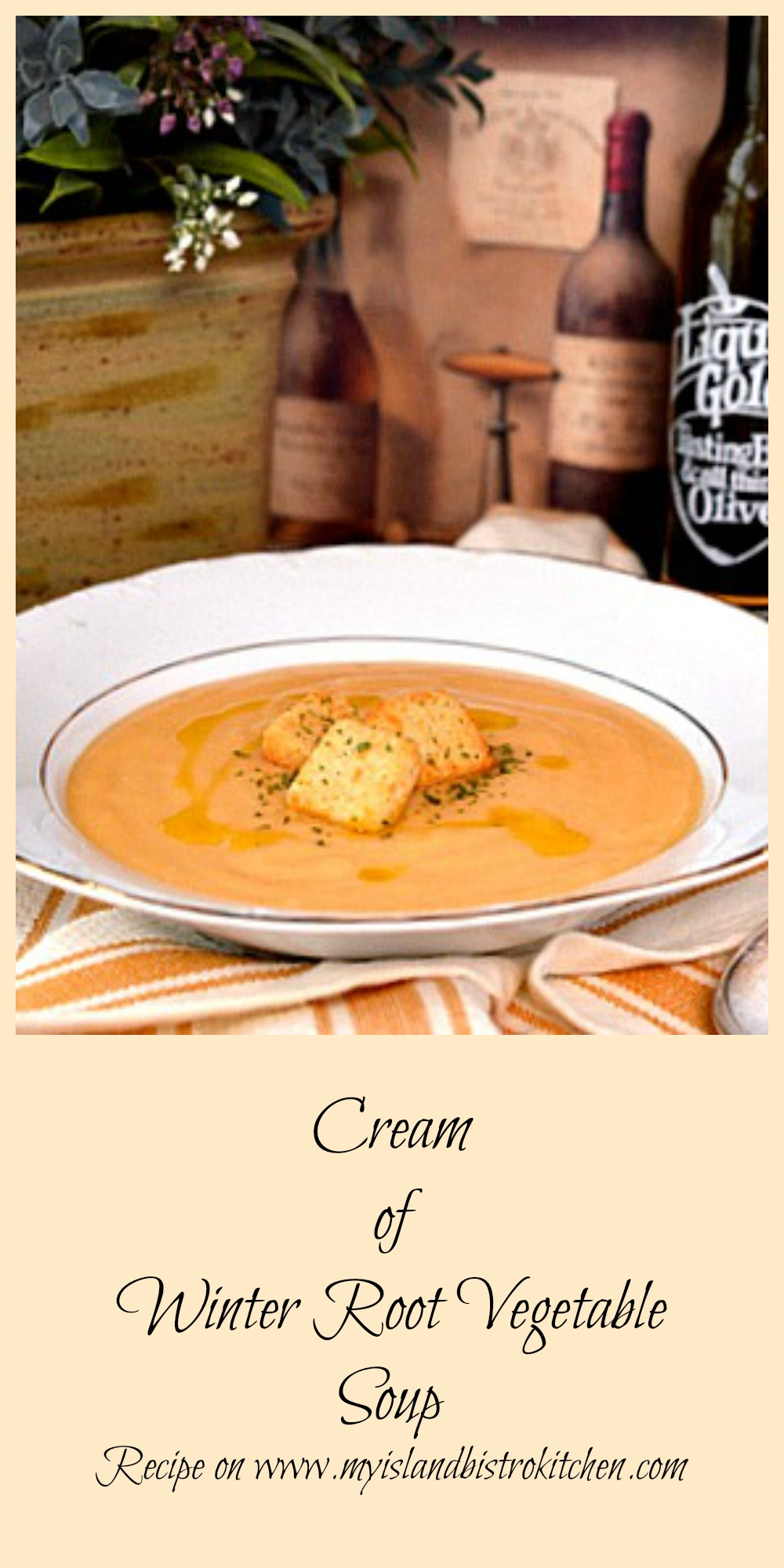 Cream of Winter Root Vegetable Soup
