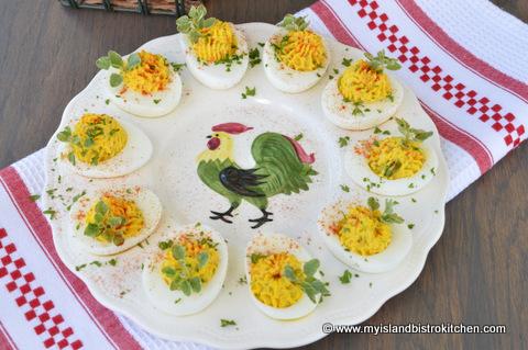 The Bistro's Best Devilled Eggs