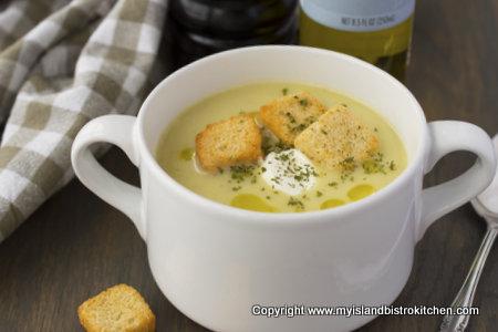 PEI Potato Leek Soup