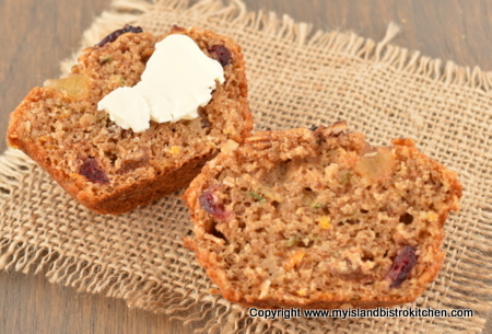 Best Zucchini Granola Muffins