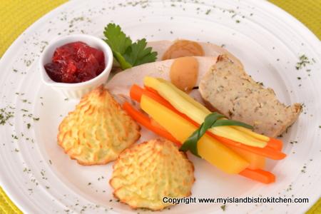 Roast Turkey Dinner with Dressing