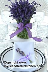 Lavender Tablesetting