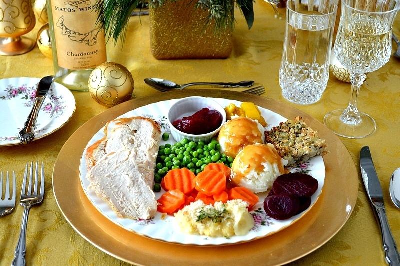 Traditional PEI Christmas Dinner
