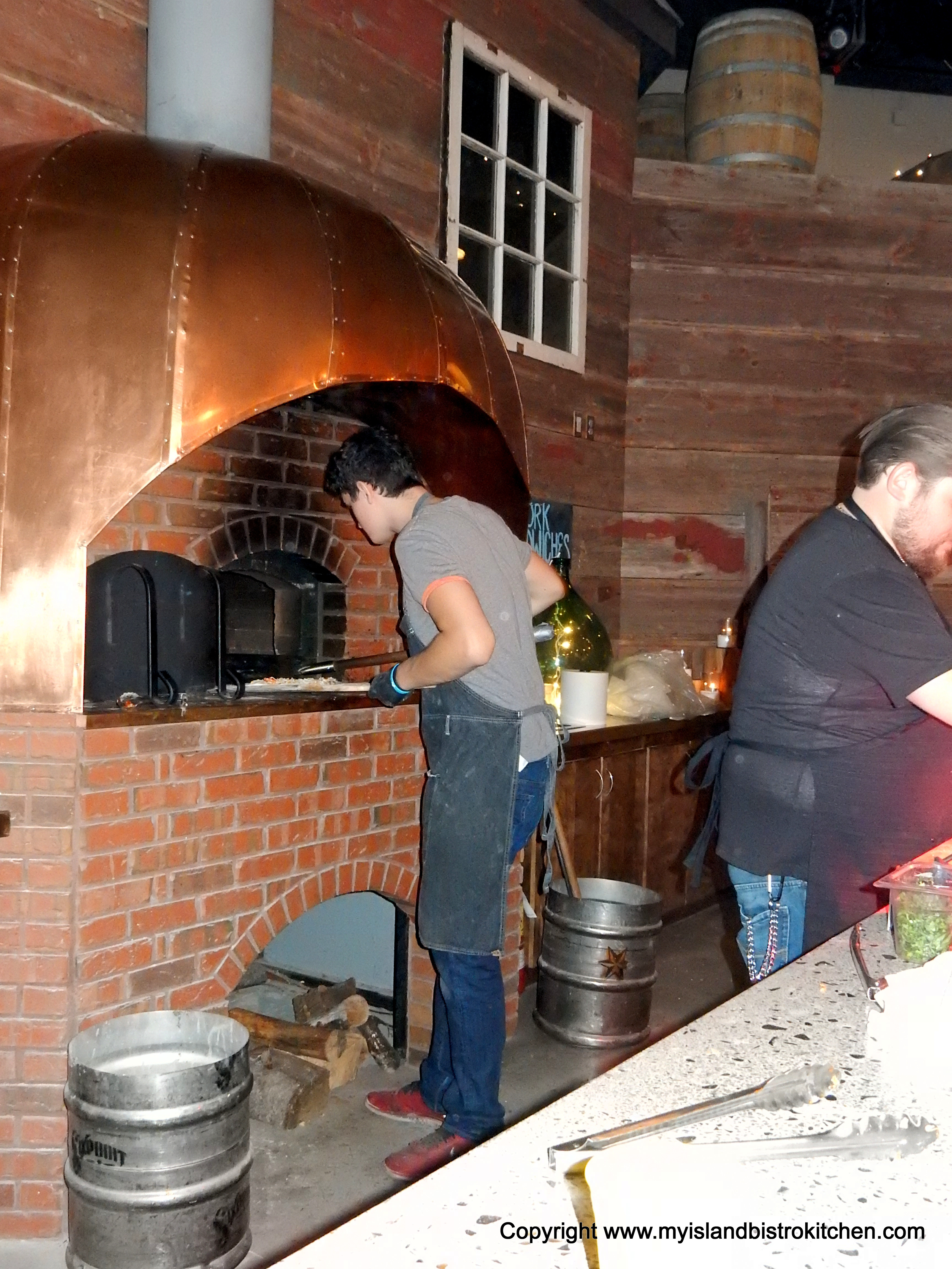 Wood-fired Brick Oven