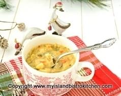 Homemade Turkey Chowder