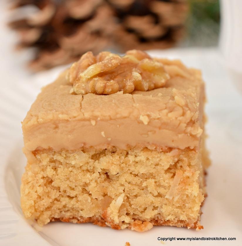 Gluten-free Brown Sugar Fudge Square