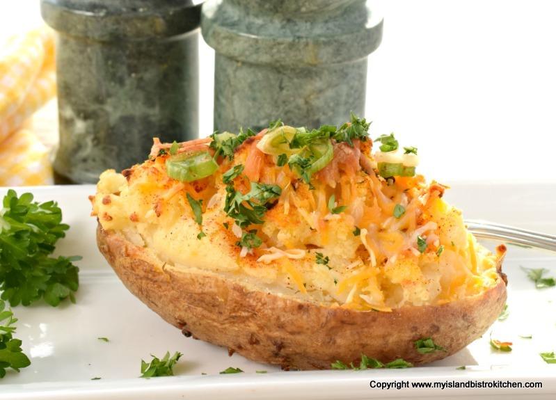 Twice-baked Potato