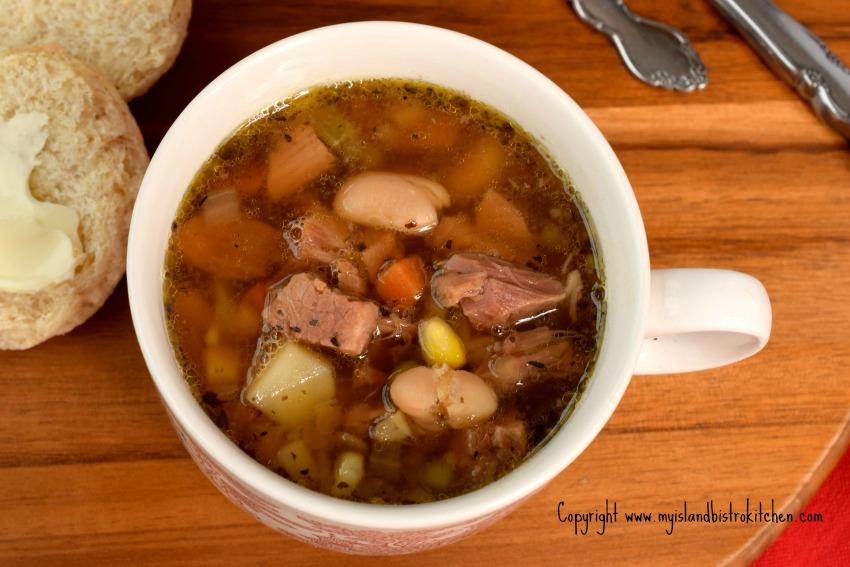 Ham Lentil Soup
