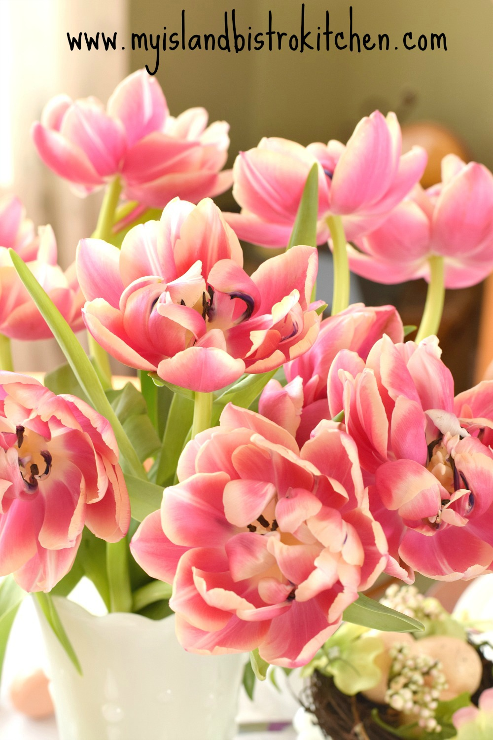 Double Flowered Tulips