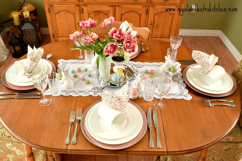 Easter Tablesetting