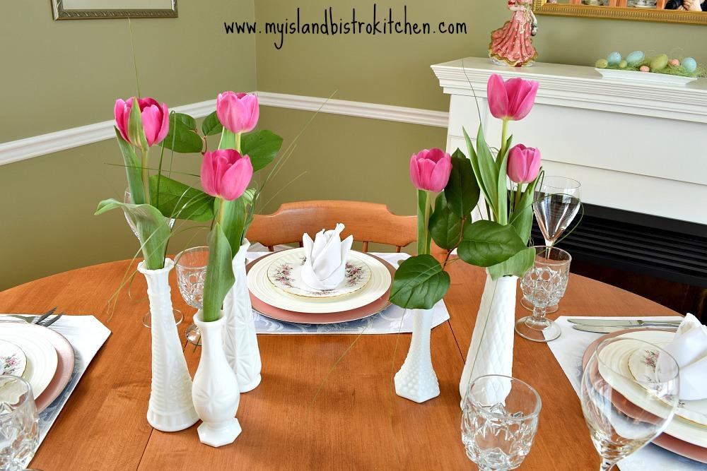 Clustered Bud Vases