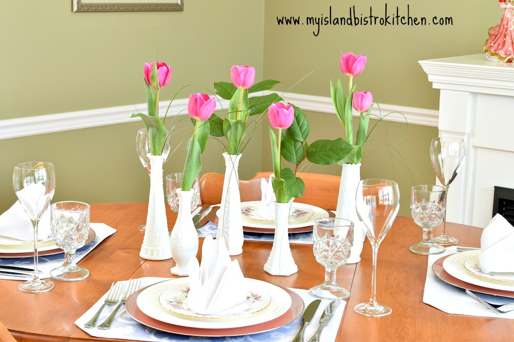 Setting the Springtime Table