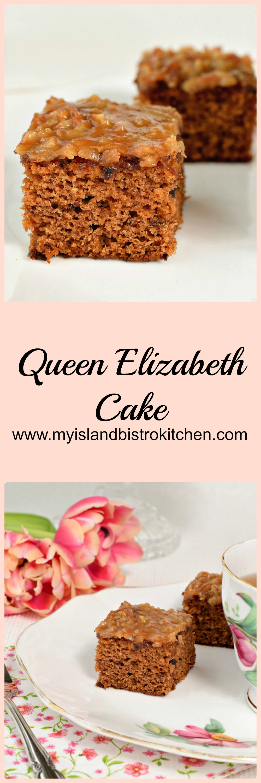 Queen Elizabeth Cake