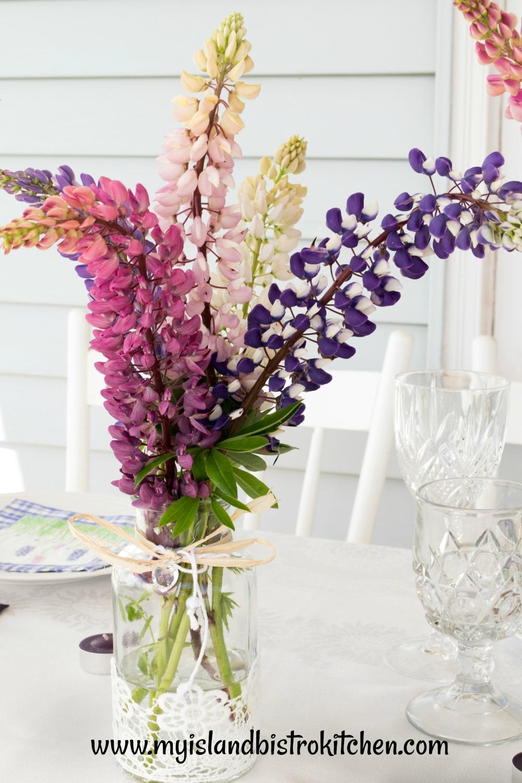 Lupine Bouquet