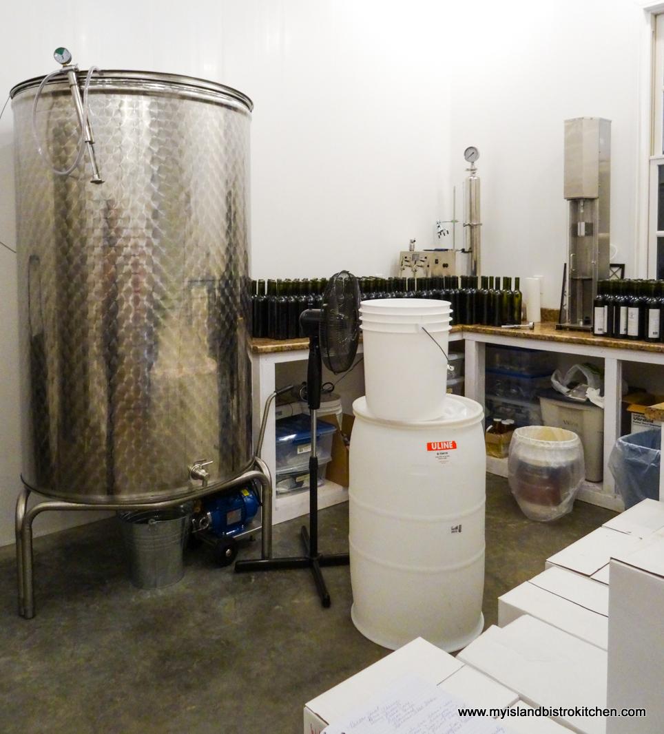 Fermentation Tank at Island Honey Wine Company, Wheatley River, PEI