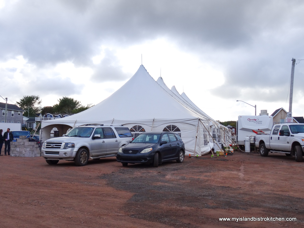 "Site of ""Taste of North Rustico"" PEI Fall Flavours Event"