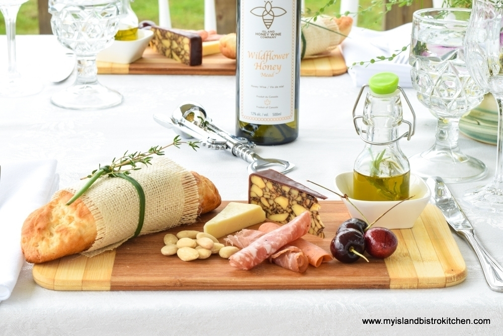 Small breadboards are ideal for individual-sized charcuterie boards