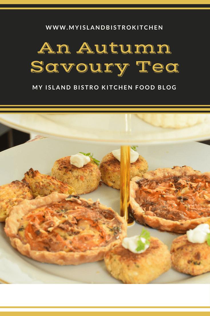 An Autumn Savoury Tea
