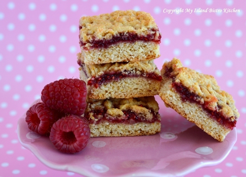 Old-fashioned Jam Squares