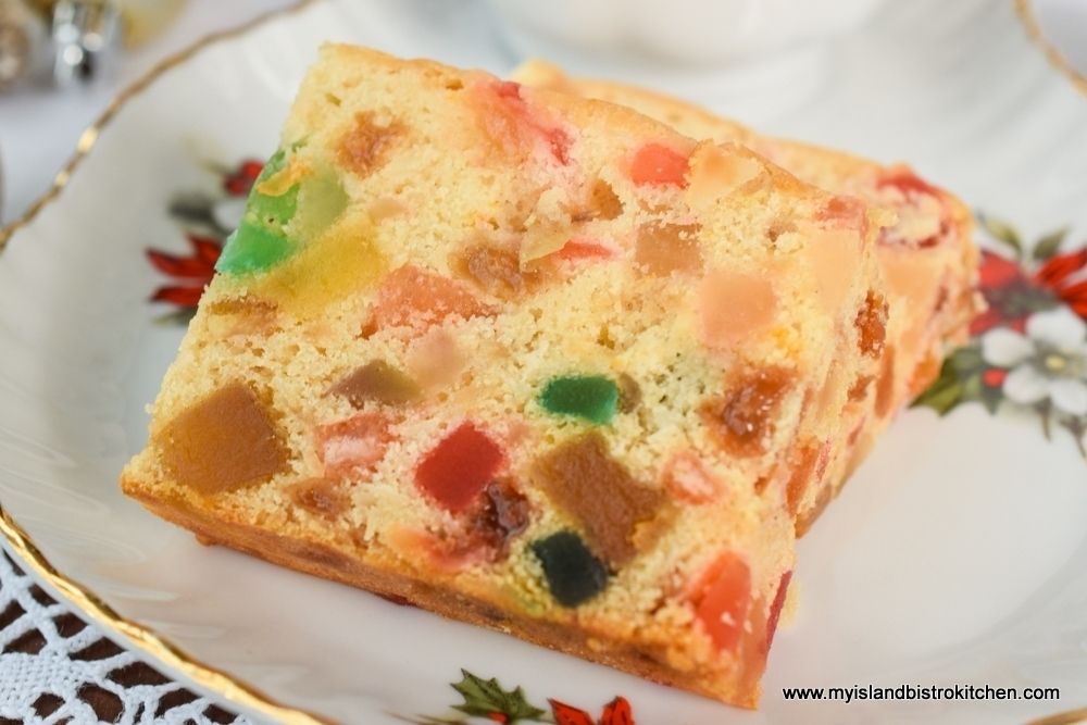 Gluten Free Light Fruitcake