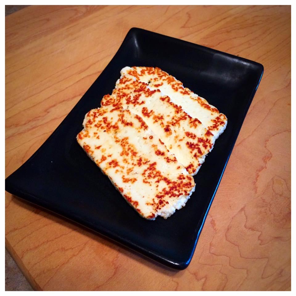 Grillable Alexis Doiron Cheese from Ferme Isle Saint-Jean, Rustico, PEI (Photo Courtesy Ferme Isle Saint-Jean)