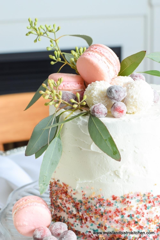 Edible Cake Centerpiece