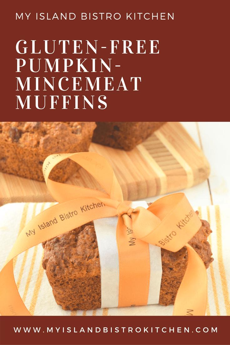 Gluten-free Pumpkin-Mincemeat Muffins