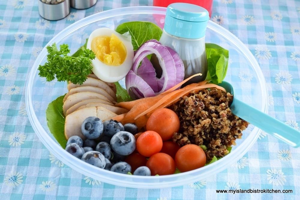 Main Meal Picnic Salad