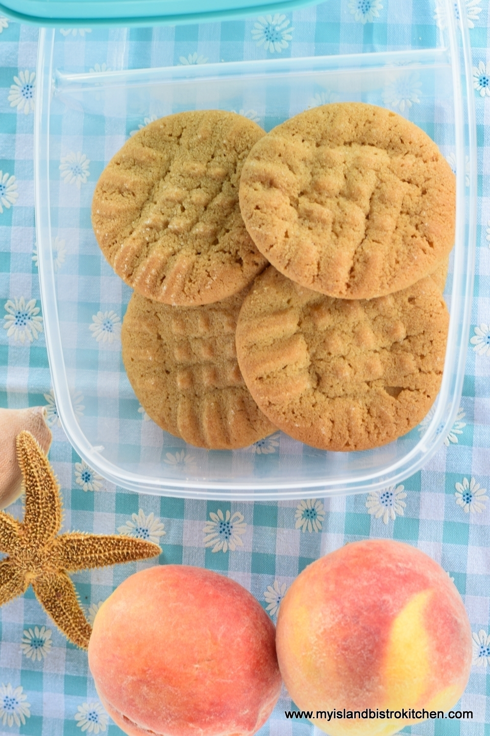 Peaches and Cookies