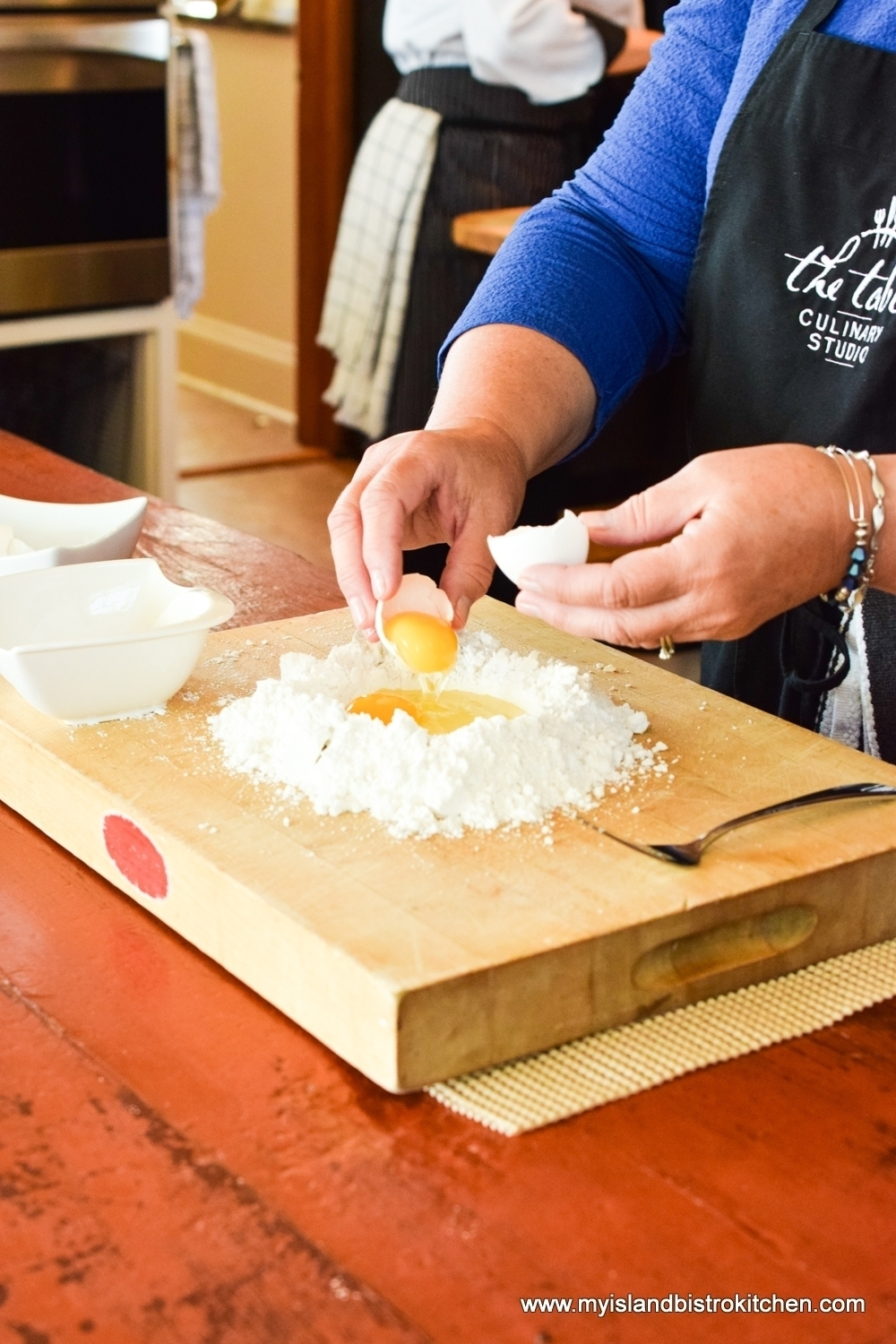 Making Gluten-Free Pasta at The Table Culinary Studio in New London, PEI