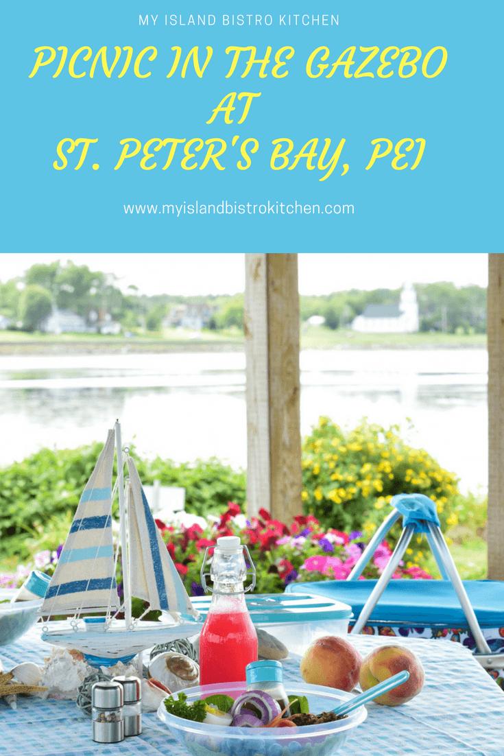 Picnic in St. Peter's Bay
