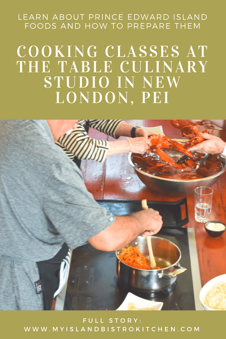 Cooking Classes in PEI