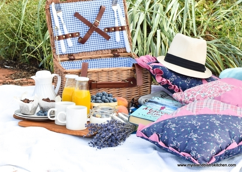 Breakfast Picnic on the Beach