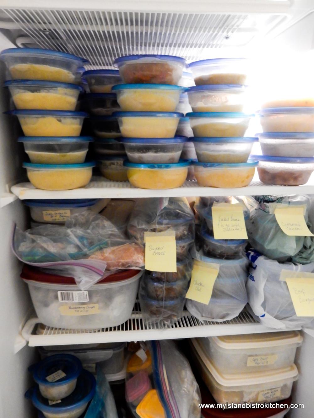 Frozen Homemade Make-ahead Meals